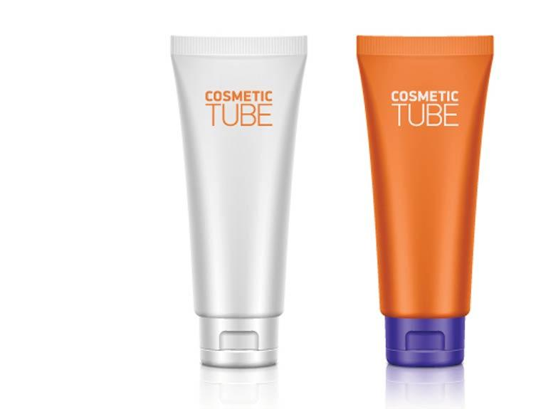 Plastic tube packaging